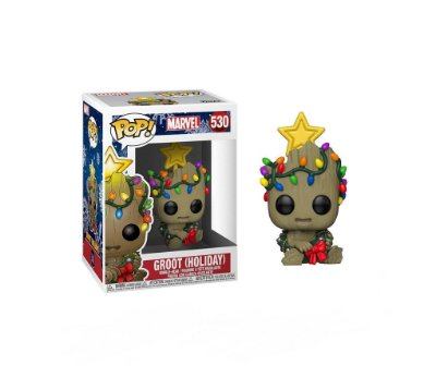 Funko Pop Marvel 530 Groot Holiday with Wreath