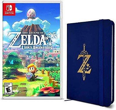 The Legend of Zelda Links Awakening + Exclusive Z Wild Logo Booklet - Switch