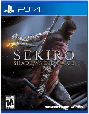 Sekiro Shadows Die Twice c/ Steelbook Case - PS4