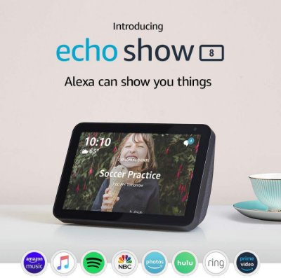 Amazon Echo Show 8 HD 8 Smart Display C/ Alexa - Charcoal