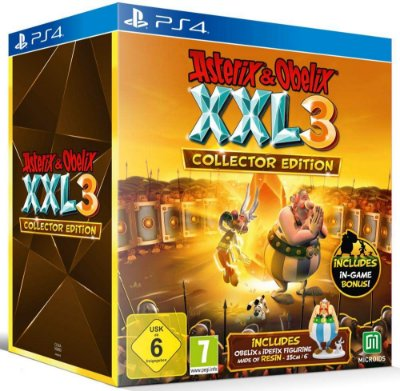 Asterix & Obelix XXL3 The Crystal Menhir Collectors Edition - Ps4