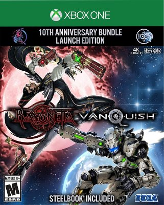 Bayonetta & Vanquish 10th Anniversary Bundle Launch Edition - Xbox One
