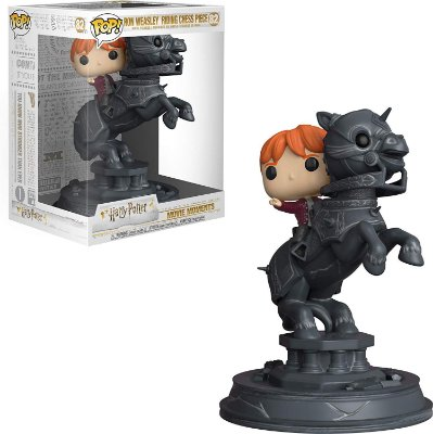 Funko Pop Harry Potter 82 Ron Weasley Riding Chess Piece