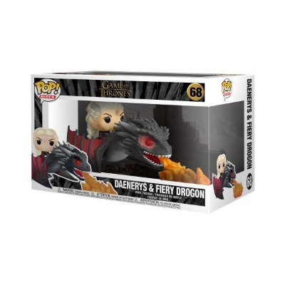 Funko Pop Game of Thrones 68 Daenerys On Fiery Drogon