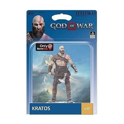 Totaku God of War Kratos Action Figure Boneco N.07