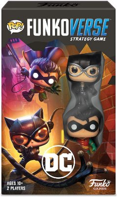 Funko Pop Funkoverse Strategy Game DC - Inglês