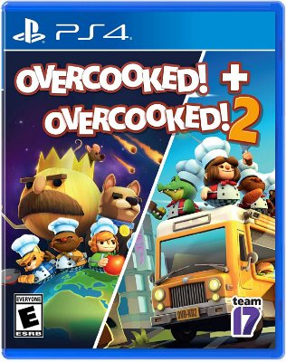 Overcooked + Overcooked 2 - PS4
