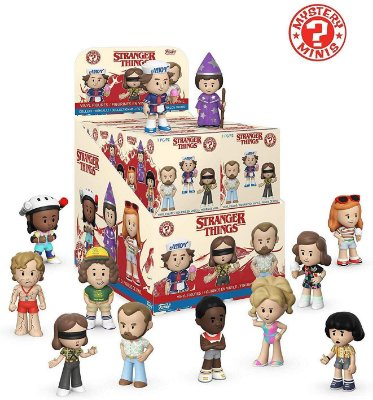 Funko Mystery Mini Stranger Things Season 3 - 1 Boneco Misterioso