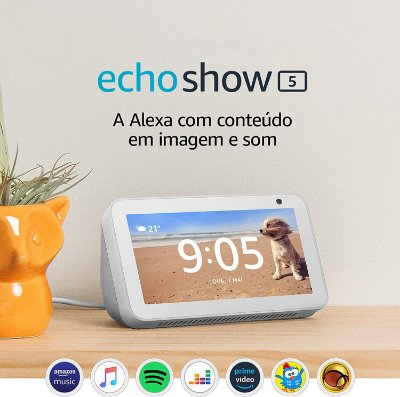 Amazon Echo Show 5 Smart Display C/ Alexa Português - Branco