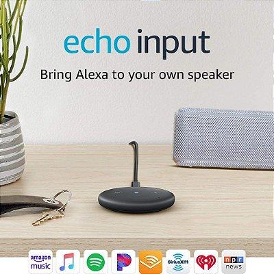 Amazon Echo Input – Conecte a Alexa na sua Cx de Som