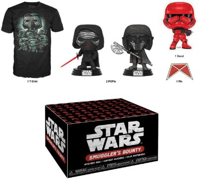 Funko Pop Star Wars Smugglers Bounty Collectors Box Forces of Darkness - XL