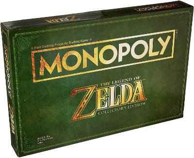 Monopoly Legend of Zelda Collectors Edition Board Game (Inglês)