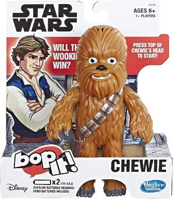 Star Wars Gaming Bop It Electronic Game Chewie Edition (Inglês)