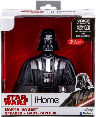 Star Wars Darth Vader Portable Bluetooth Speaker (Siri e Google Assistant)