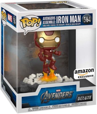 Funko Pop Marvel Avengers 584 Iron Man Assemble Deluxe