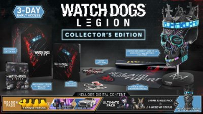 Watch Dogs Legion Collectors Edition - PS4