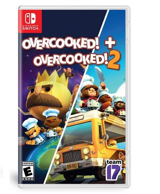 Overcooked + Overcooked 2 - Switch