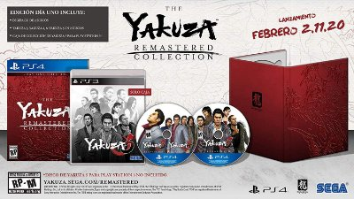 Yakuza Remastered Collection Day 1 Edition - PS4
