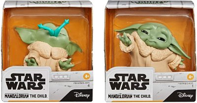 Star Wars The Mandalorian Baby Yoda Froggy Snack Force Moment Toys 2pack