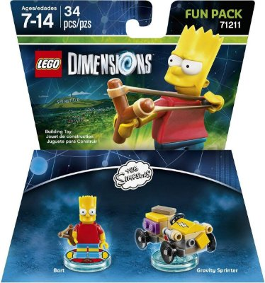 Simpsons Bart Fun Pack - Lego Dimensions