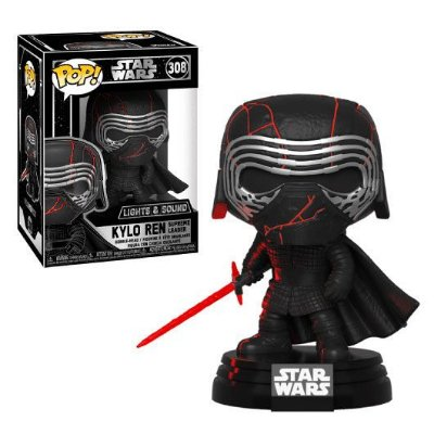 Funko Pop Star Wars Rise of Skywalker 308 Kylo Ren Lights & Sound
