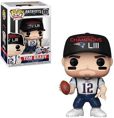 Funko Pop NFL Patriots 137 Tom Brady SB Champions