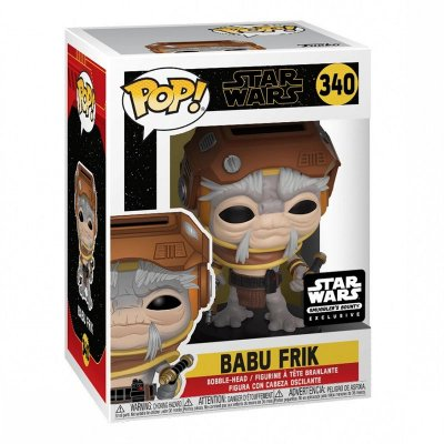 Funko Pop Star Wars Rise Of Skywalker 340 Babu Frik Exclusive