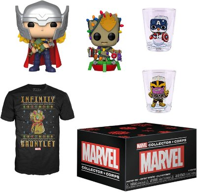 Funko Pop Marvel Collector Corps Marvel Holiday Box - XL