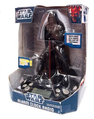 Star Wars Darth Vader Alarm Clock Radio