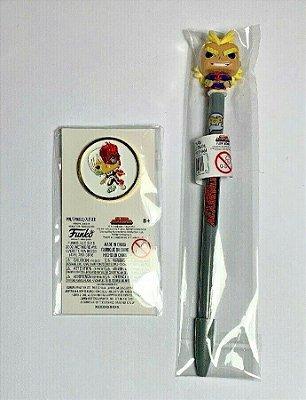 Funko Pop My Hero Academia All Might Pen & Enamel Todoroki Pin
