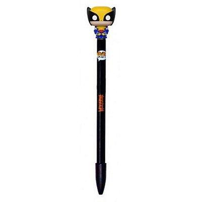 Funko Pop Pen X-men Wolverine - Caneta Preta