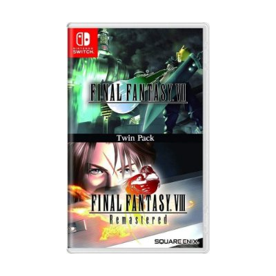 Final Fantasy VII e VIII Remastered Twin Pack - Switch