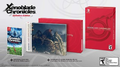 Xenoblade Chronicles Definitive Works Set - Switch