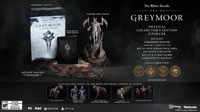 The Elder Scrolls Online Greymoor Collectors Ed.  Upgrade - PS4