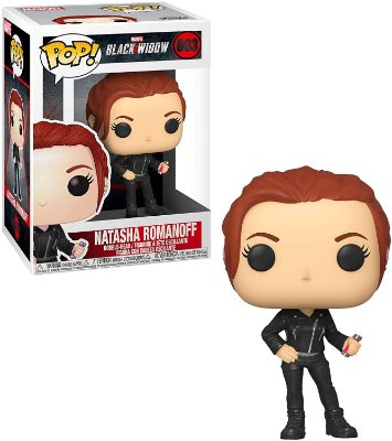 Funko Pop Marvel Black Widow 603 Natasha Romanoff