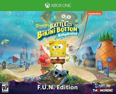 Spongebob Squarepants Battle for Bikini Bottom Rehydrated F.U.N. Edit. - Xbox One