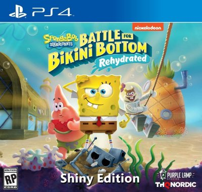 Spongebob Squarepants: Battle for Bikini Bottom Rehydrated Shiny Ed. - PS4