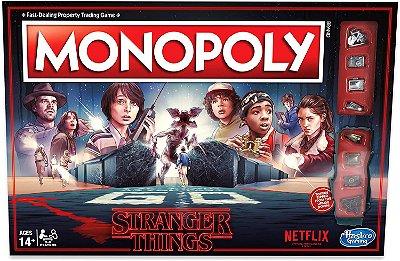 Jogo Monopoly Stranger Things Netflix (Inglês)