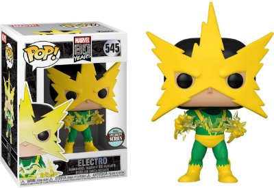 Funko Pop Marvel 80 Years 545 Electro Specialty Series