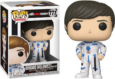 Funko Pop The Big Bang Theory 777 Howard Wolowitz Space