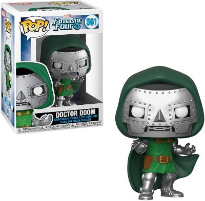 Pop Funko Marvel Fantastic Four 561 Doctor Doom