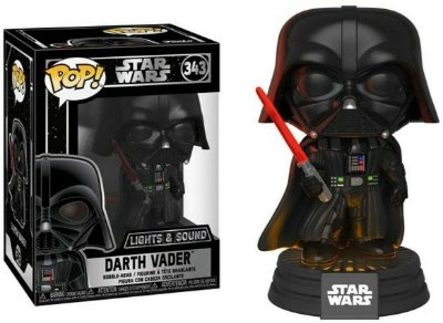 Funko Pop Star Wars 343 Darth Vader Lights & Sound