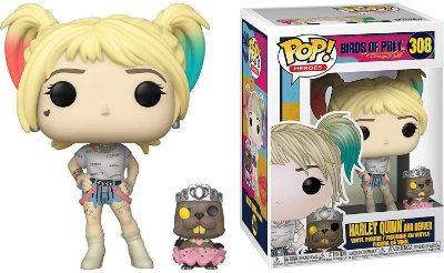 Funko Pop Birds of Prey 308 Harley Quinn And Beaver