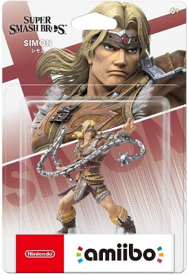 Amiibo Simon Belmont - Super Smash Bros Ultimate