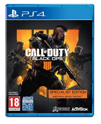 Call of Duty Black Ops 4 Specialist Edition - PS4