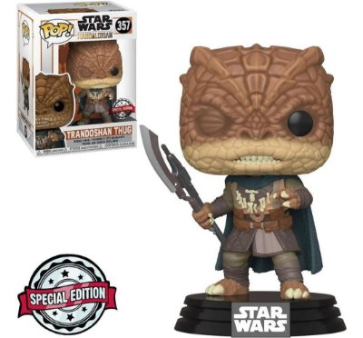 Funko Pop Star Wars The Mandalorian 357 Trandoshan Thug Special