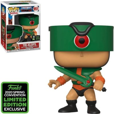 Funko Pop Masters Of The Universe 951 Tri-klops Limited Edition