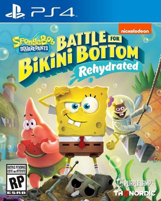 Spongebob Squarepants Battle for Bikini Bottom - PS4
