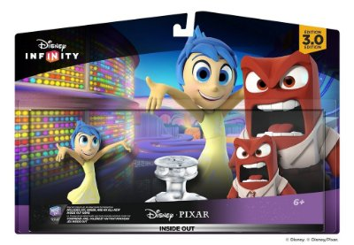 Disney Infinity 3.0 Pixar Inside Out Play Set (Joy/Anger) Divertidamente