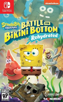 Spongebob Squarepants Battle for Bikini Bottom - Switch
